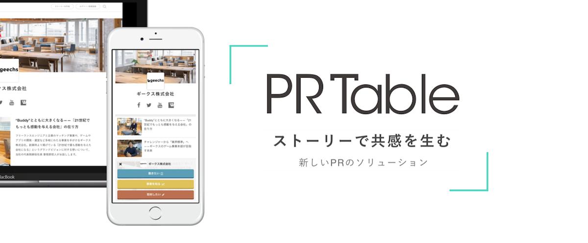 企業・組織向けのストーリーテリング・プラットフォーム「PR Table」のRuby on Railsでのサーバサイド開発