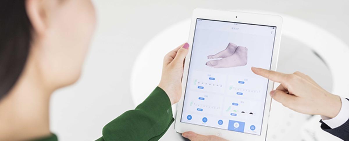 足と靴の3Dデータを活用した靴のマッチングリコメンデーションサービス「Flickfit」のUI/UXデザイン業務