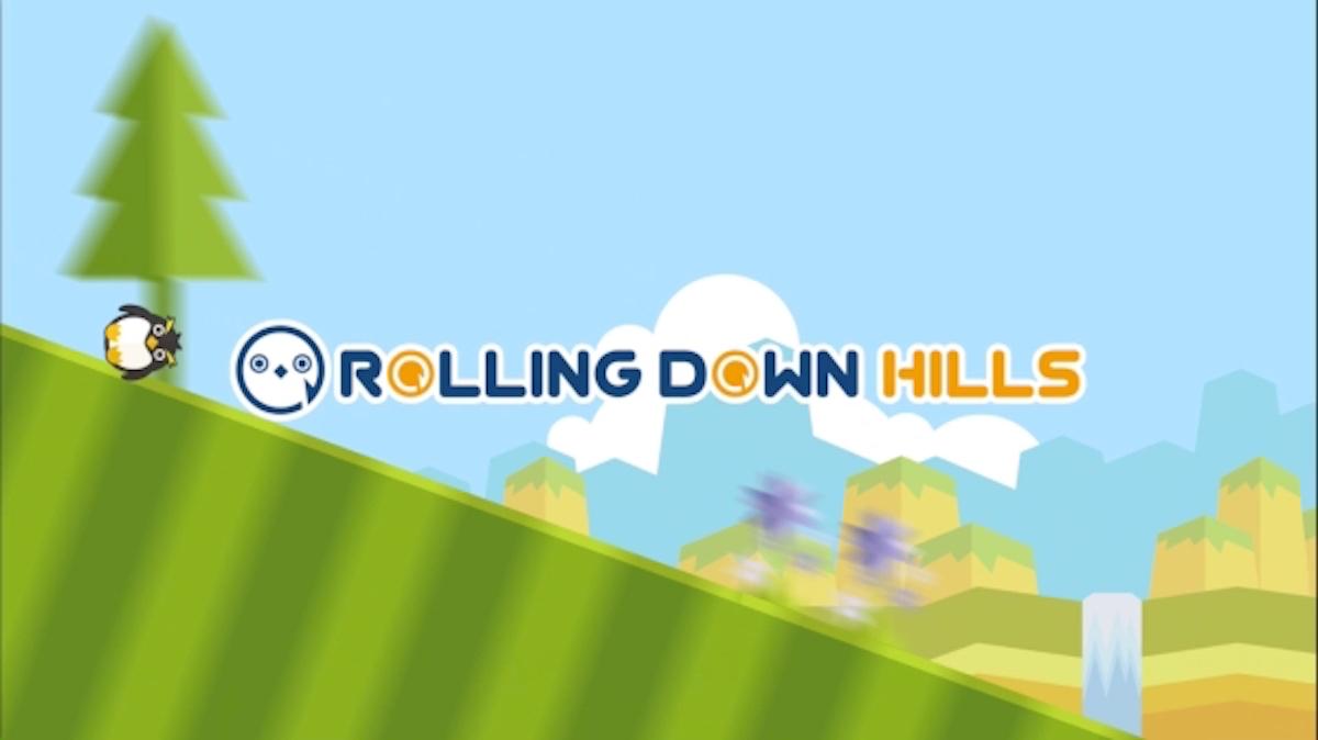 高難度アクションゲーム「Rolling Down Hills[ローリングダウンヒルズ]」のUnityを使ったスマホアプリ開発